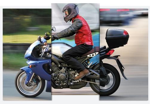 El diseño de la moto condiciona la forma de conducir