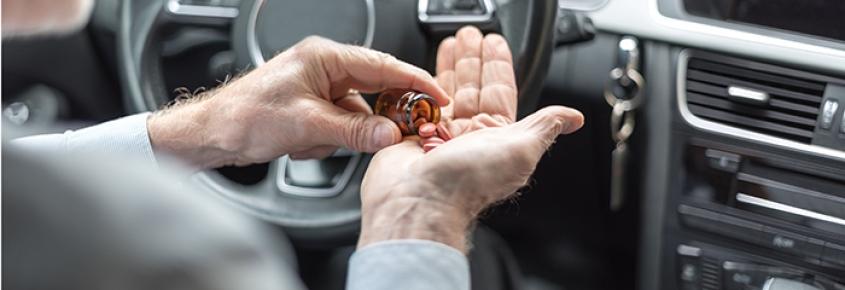 El 25% de los medicamentos consumidos afectan a la conducción