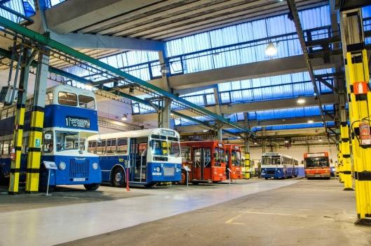 Ya puedes visitar el museo de Autobuses EMT en Madrid