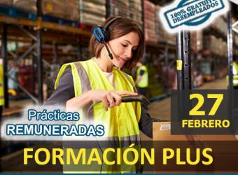 DESEMPLEADOS | FORMACIÓN PLUS - Certificado Profesionalidad Actividades Auxiliares de Almacén