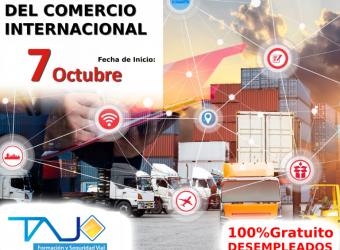 DESEMPLEADOS | GESTION ADMINISTRATIVA Y FINANCIERA DEL COMERCIO INTERNACIONAL (MADRID)