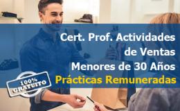 certificado profesional actividades auxiliares de comercio gratis gratuito futuro