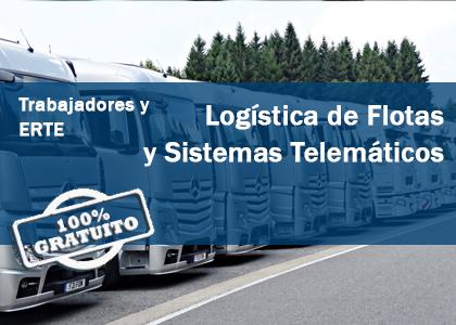 Logística de flotas y Sistemas Telemáticos (Gratuito Trabajadores y ERTE)