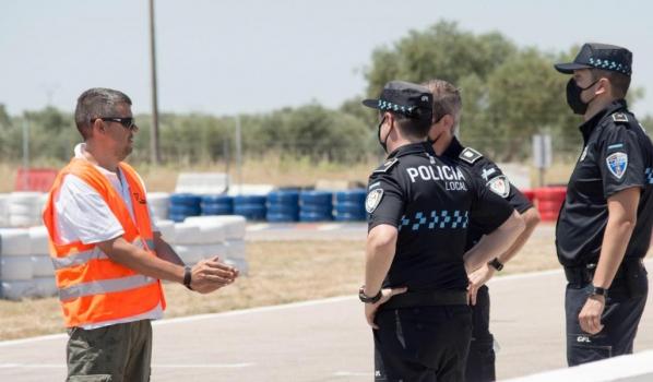 Autoescuela Tajo imparte su formación a los próximos policías locales de Castilla La Mancha