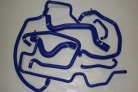 Renault 5 GT Turbo Silicone Breather Hoses -FASE 1