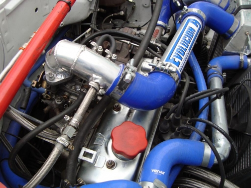 Turbo silicone/aluminum boost intercooler hose kit for Renault 5 GT - ALUMINUM PHASE 1 AND 2