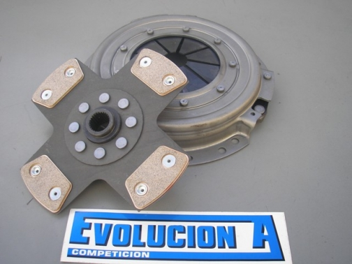 CLUTCH KIT CERAMIC DISC REINFORCED (RIGID OR SPRINGS) CLIO RS