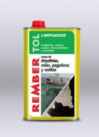Limpiador de alquitrán, bituminosos, aceites y grasas