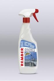 Limpiador de cal para griferías y acero inoxidable