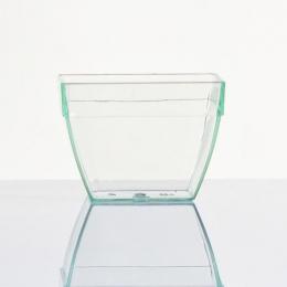 Recipientes de plástico diseño ABOMBADO vajilla desechable para hostelería y catering fiestas y eventos