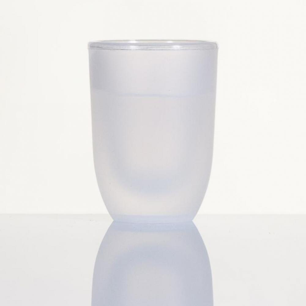 Vaso chupito plástico doble pared modelo HELADO para degustar chupitos postres y aperitivos catering y hostelería