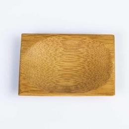 Platito rectangular bambú serie NIPÓN presentación aperitivos y platos en catering service y hostelería