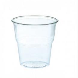 Vaso Agua CATERING Transparente plástico desechable para eventos y fiestas