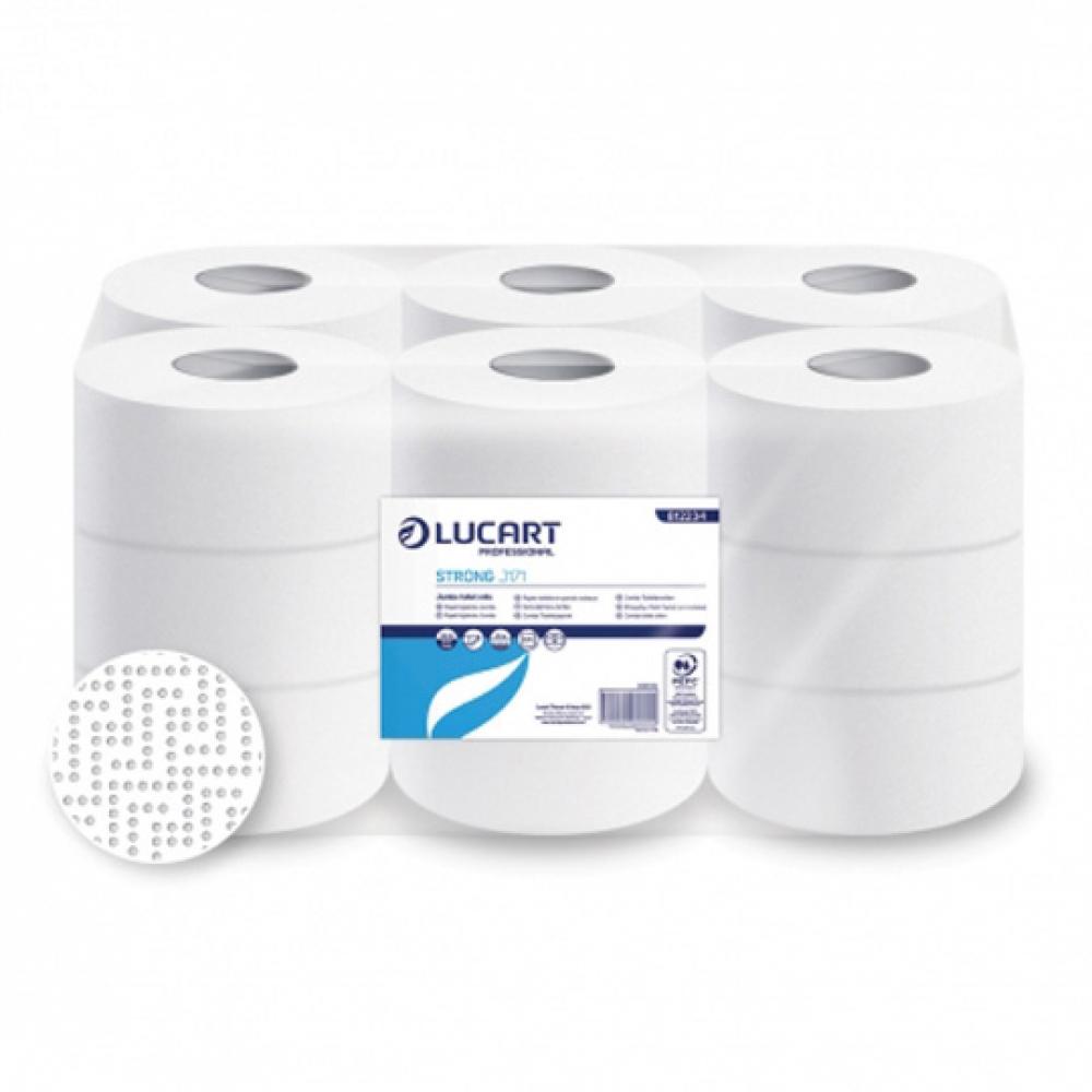 Papel higiénico STRONG J171 2 capas ø 51mm rollo 171m (Paquete 18 unidades)