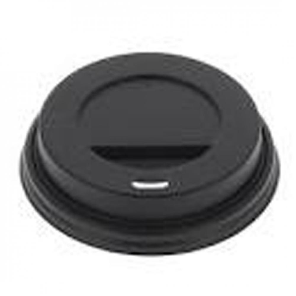 Tapa TRAVEL negra para Vasos 8, 9 y 12 oz (Ristra 100 unidades)