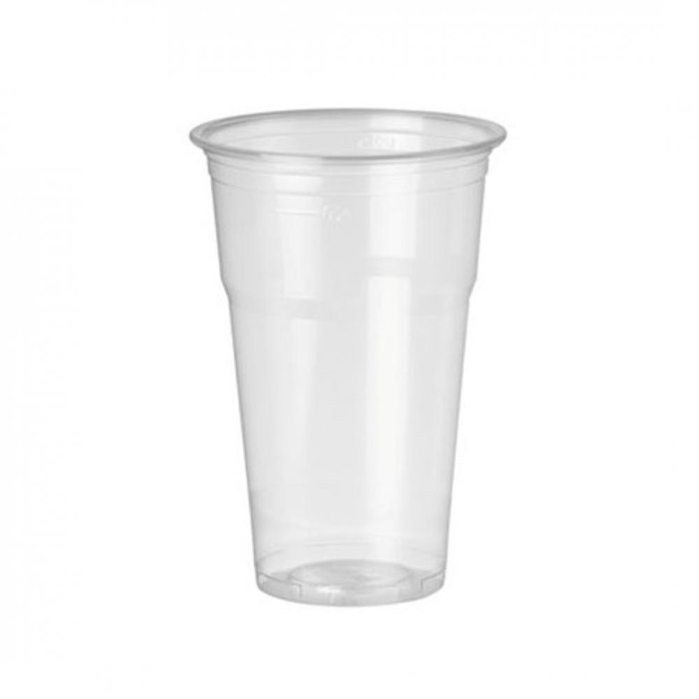 Vaso TRANSPARENTE plástico 330 m (Ristra 50 unidades)