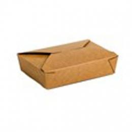 Caja KRAFT TAKEAWAY 210x150x48 mm 1300 ml (Paquete...