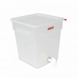 Dispensador PC LIQUIDOS con GRIFO Blanco 18 L...