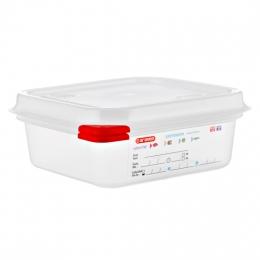 Envase HERMETICO PP Transparente GN1/6 1,1 L...