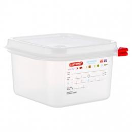 Envase HERMETICO PP Transparente GN1/6 1,7 L...