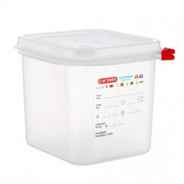 Envase HERMETICO PP Transparente GN1/6 2,6 L...
