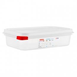 Envase HERMETICO PP Transparente GN1/4 1,8 L...