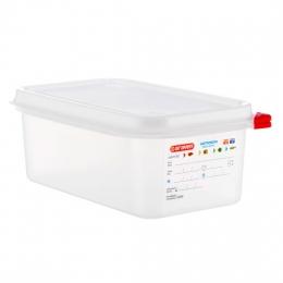 Envase HERMETICO PP Transparente GN1/4 2,8 L...