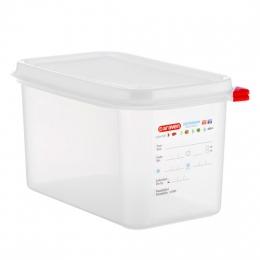 Envase HERMETICO PP Transparente GN1/4 4,3 L...