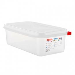 Envase HERMETICO PP Transparente GN1/3 4 L...