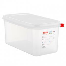 Envase HERMETICO PP Transparente GN1/3 6 L...