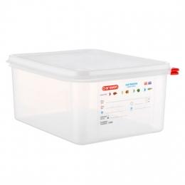 Envase HERMETICO PP Transparente GN1/2 12,5 L...