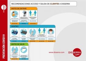 Accesos y medidas generales