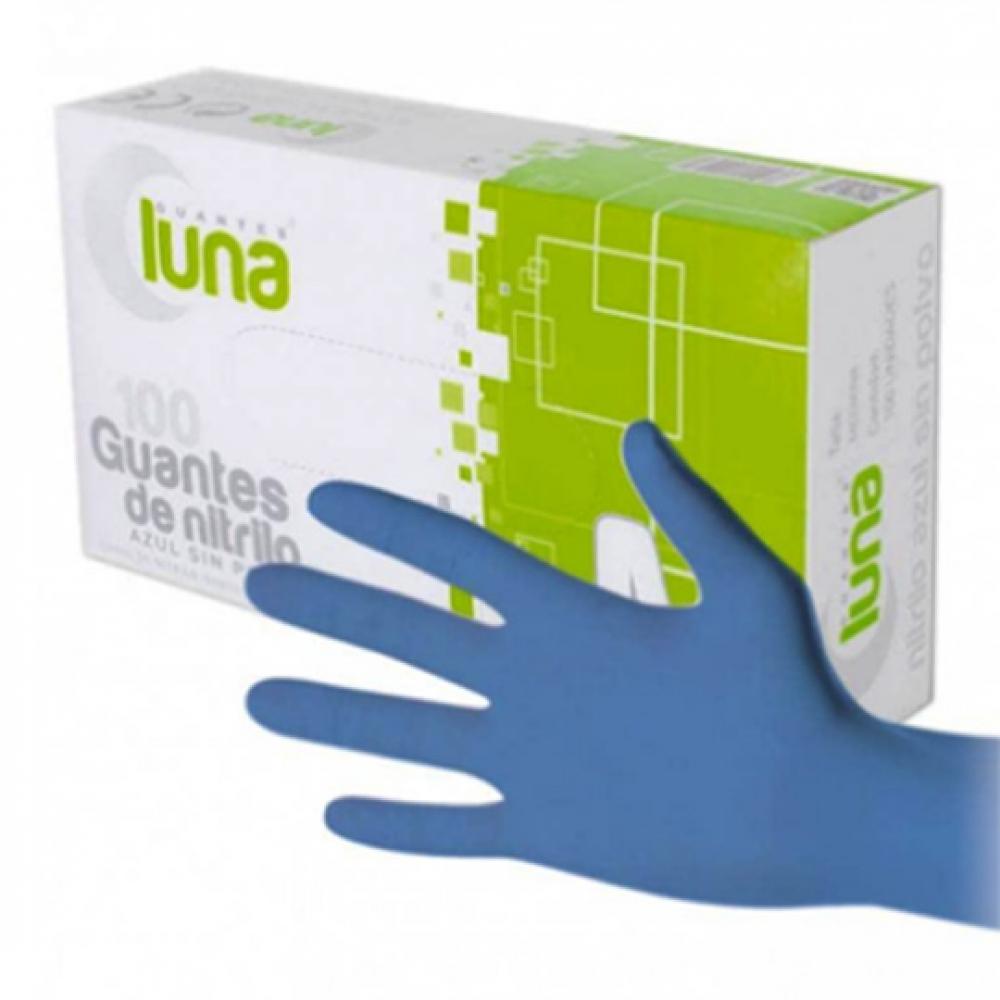 Guante NITRILO AZUL sin polvo TP (Paquete 100 unidades)