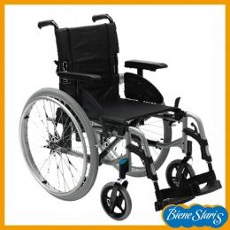 silla de ruedas ligera, robusta y estrecha para traslados
