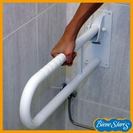 barra para baño abatible asidero discapacitados