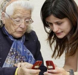 Teléfono fijo para mayores, móvil para sordos, teléfono inalámbrico con teclas grandes