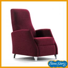 sillón de relax reclinable eléctrico  puesta en pie