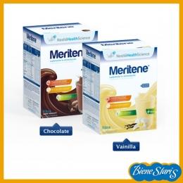 batido sabor vainilla Meriten fibra Nestlé