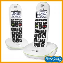 teléfono inalámbrico duado para problemas de audición