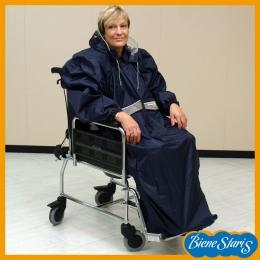 Chubasquero impermeable para silla de ruedas