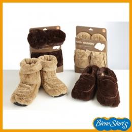Zapatillas de semillas para frío o calor