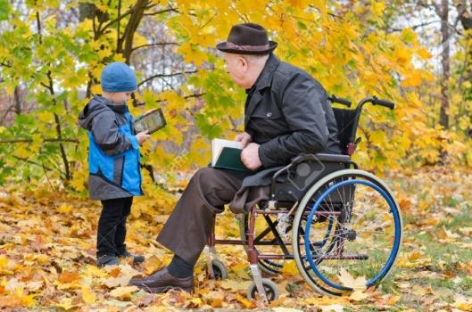 entretenimiento para gente mayor y dependiente
