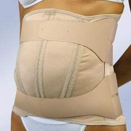 Ortesis toraco-lumbar semirrígida para abdomen péndulo