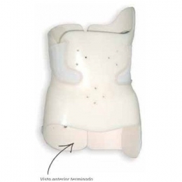 Ortesis toraco-lumbar rígida para inmovilización en termoplástico, A MEDIDA