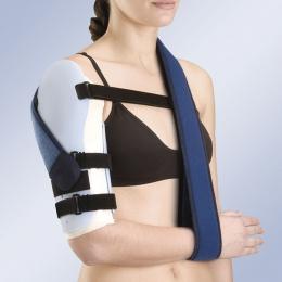 Ortesis pasiva para inmovilización ósea de brazo en termoplástico, prefabricada