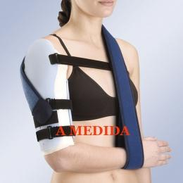 Ortesis pasiva para inmovilización ósea de brazo en termoplástico,A MEDIDA