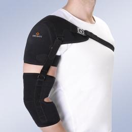 Ortesis pasiva para subluxación de hombro.