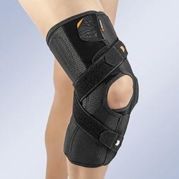 Ortesis para la articulación de rodilla, con sistema de estabilización.