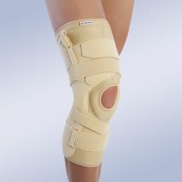 Ortesis de rodilla para el control de inestabilidad mediolateral (varo-valgo).