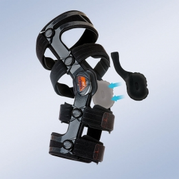 Ortesis para el control mediolateral y/o de flexo-extensión de la rodilla, A MEDIDA bajo protocolo.